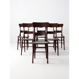 Antique Bentwood Dining Chairs - Set of 6 Preview