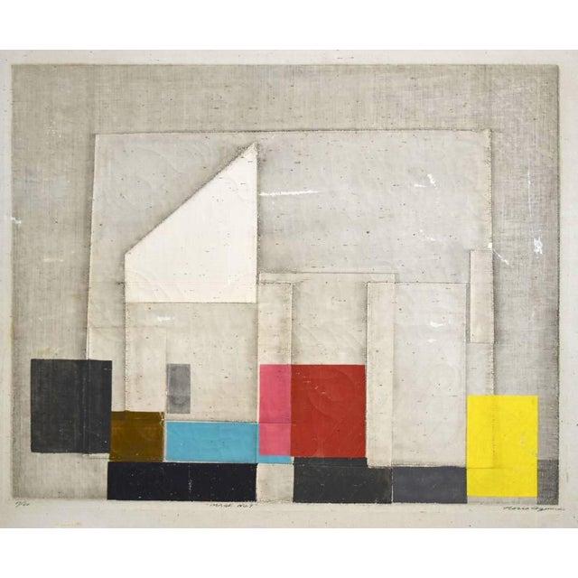 "Final Markdown C. 1967 Norio Azuma ""Image No.7."" Color Serigraph - Image 3 of 7"
