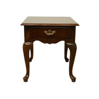 "Thomasville Furniture Collectors Cherry 21x27"" Accent End Table For Sale"