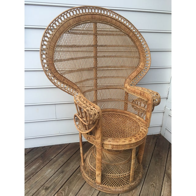 Vintage Peacock Chair - Image 3 of 10