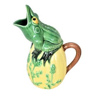 Vintage Frog Pitcher For Sale