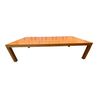 Modern Handmade Solid Wood Dining Table For Sale