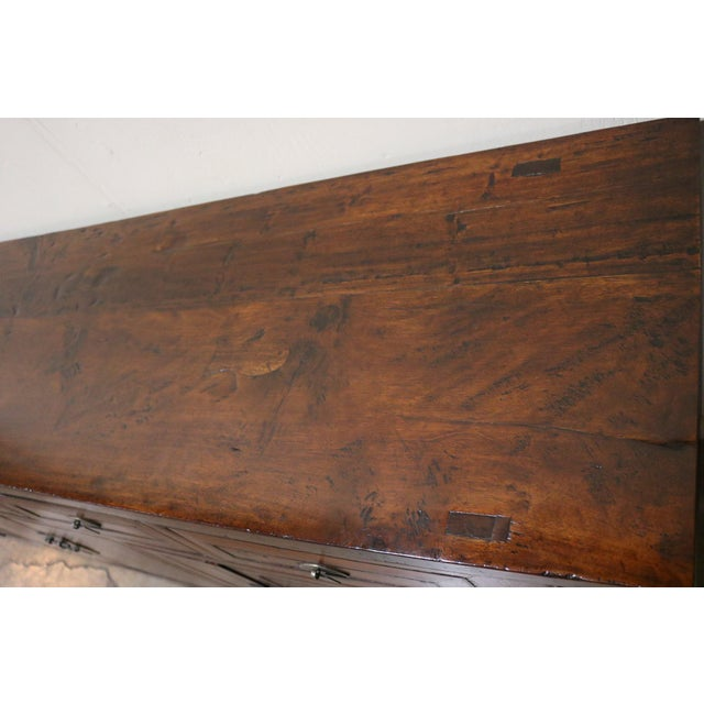 Wood Late 19th Century Walnut Sideboard For Sale - Image 7 of 8