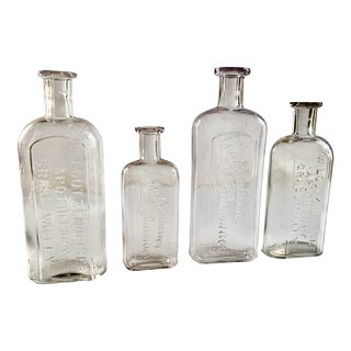 Antique Pharmacy Bottle Lot, Grass Valley Ca For Sale