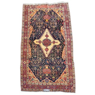 Bakhtiari Carpet, Inscribed and Dated 1906 For Sale