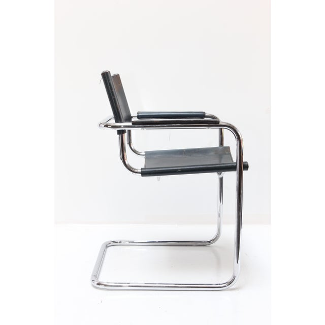 Marcel Breuer Leather Armchairs - A Pair - Image 4 of 11