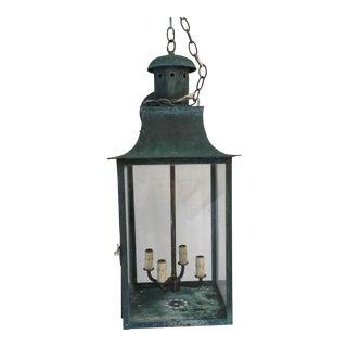 Vintage Copper Lantern For Sale
