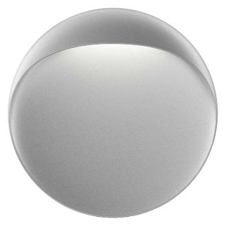 Large 'Flindt' Indoor or Outdoor Wall Light in Aluminum Gray for Louis Poulsen For Sale