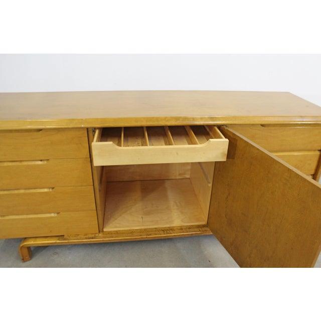 Wood Mid-Century Danish Modern Edmond Spence Credenza Dresser For Sale - Image 7 of 13