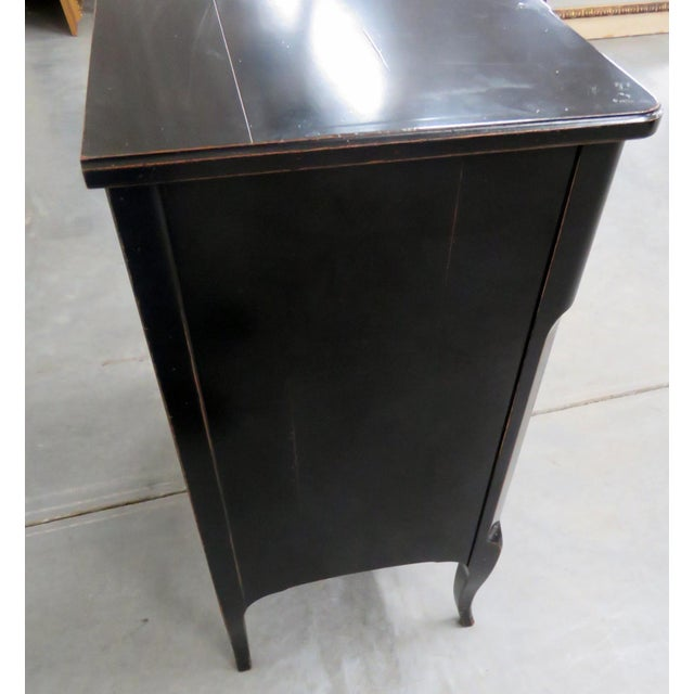 Roche Bobois Paint Decorated Commode For Sale - Image 10 of 11