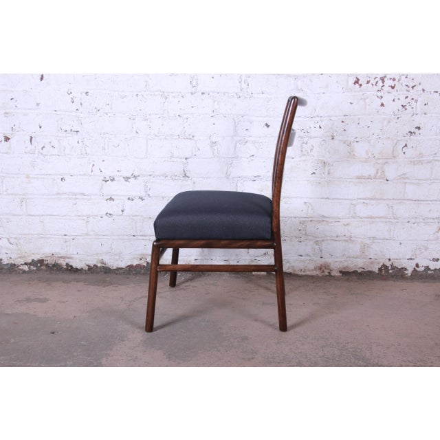 Brown Robsjohn Gibbings for Widdicomb Mid-Century Modern Dining Chairs -Set of 6 For Sale - Image 8 of 13