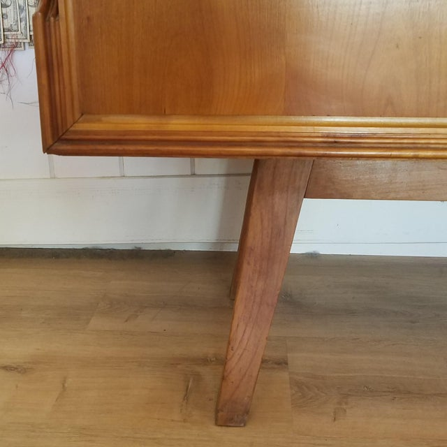 Mid 20th Century Italian Extra Large Maple Credenza For Sale - Image 12 of 13