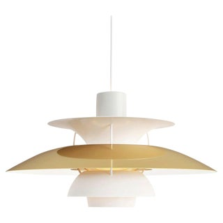 Poul Henningsen Ph 5 Brass Pendant for Louis Poulsen For Sale