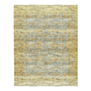 "Contemporary Hand Woven Rug - 13'5"" x 17' For Sale"
