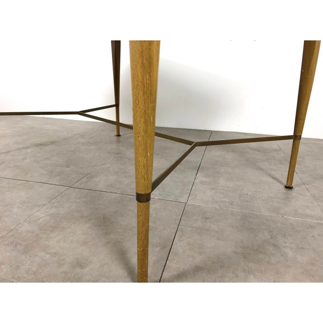 1950s Vintage Paul McCobb Irwin Calvin Dining Table For Sale In Detroit - Image 6 of 11