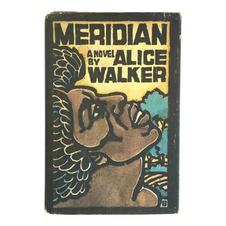 """1970s Vintage First Edition """"Meridian"""" Book by Alice Walker For Sale"""