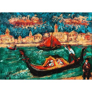 'Grand Canal, Venice' by Henri D'Anty, C. 1955; School of Paris, Musee D'Orsay, Toulouse-Lautrec Museum For Sale