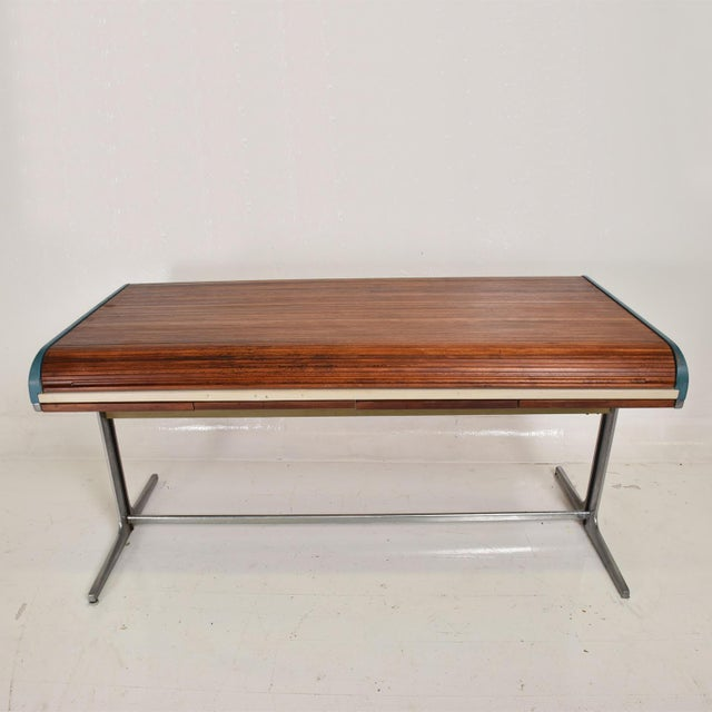 Rare Mid Century Modern Action Desk by George Nelson & Robert Propst Herman Miller For Sale - Image 10 of 10