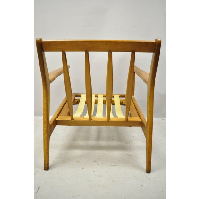 Mid 20th Century Mid 20th Century Modern Baumritter Walnut Lounge Danish Style Arm Chair For Sale - Image 5 of 12