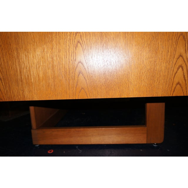 Mid-Century Modern Executive Desk and Credenza - Image 4 of 7