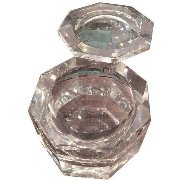 Mid-Century Modern Mid-Century Modern Carole Stupell Style Lucite Ice Bucket For Sale - Image 3 of 5