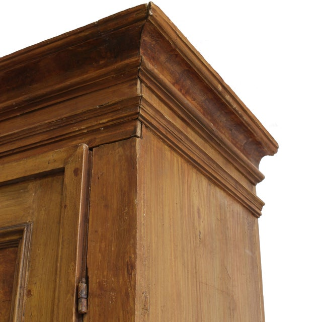 Grand Antique 17th Century Tuscan Armoire For Sale - Image 9 of 13