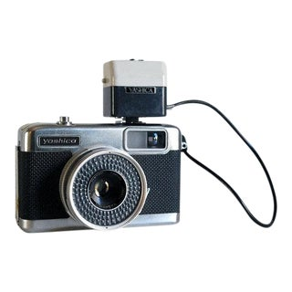 1960s Yashica EZ-Matic Camera and Case For Sale