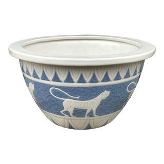 Vintage Empire Style Ceramic Bowl For Sale