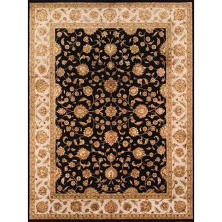 Pasargad Agra Silk & Wool Rug - 9' X 12' For Sale