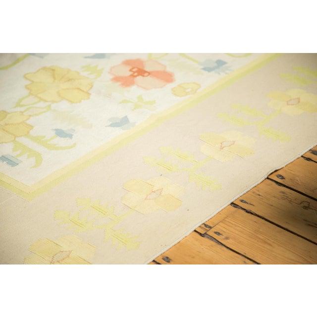 """Vintage Minimalist Dhurrie Carpet - 8'9"""" X 11'10"""" - Image 4 of 10"""