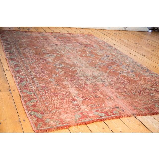"Distressed Oushak Carpet - 5'4"" X 8' - Image 2 of 9"