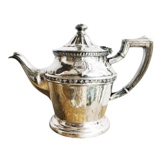 Vintage 1948 Silver Teapot from the Arizona Biltmore For Sale