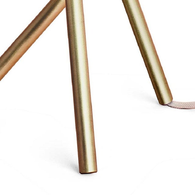 Table Lamp Brushed and Lacquered Brass For Sale - Image 4 of 6
