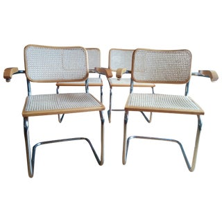 DWR Cesca Chairs - Set of 4 For Sale