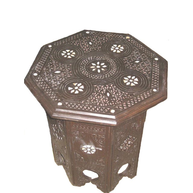 Syrian Boho Chic Side Table - Image 1 of 3