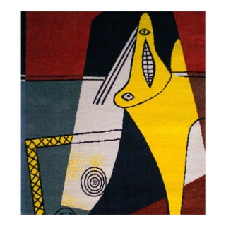 "After Picasso Large Wool Rug, ""La Figura,"" 1927"