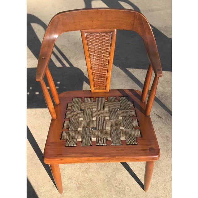 Tomlinson of High Point Mid Century Dining Chairs - Set of 4 For Sale - Image 9 of 13
