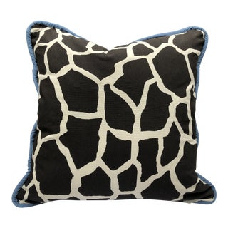 "Custom Giraffe Print 30"" Floor Cushion For Sale"