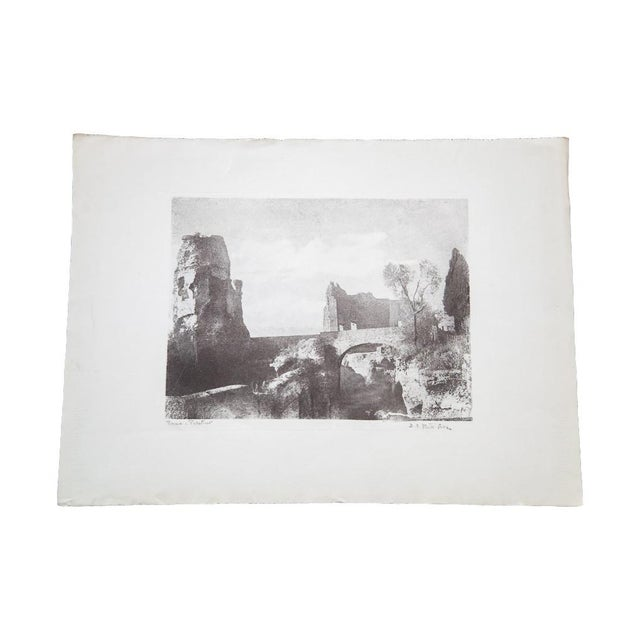 D.R. Peretti Griva Vintage Bromoil Transfer - Image 1 of 5