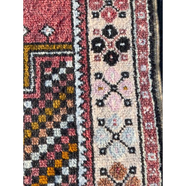 Vintage Turkish Anatolian Rug - 3′10″ × 7′4″ For Sale - Image 5 of 11