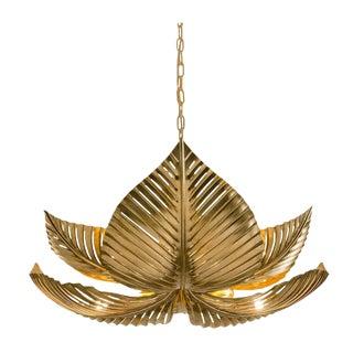 Large Palm Pendant Light For Sale