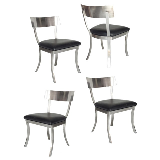 """""""Klismos Style"""" Dining Chairs For Sale - Image 9 of 9"""