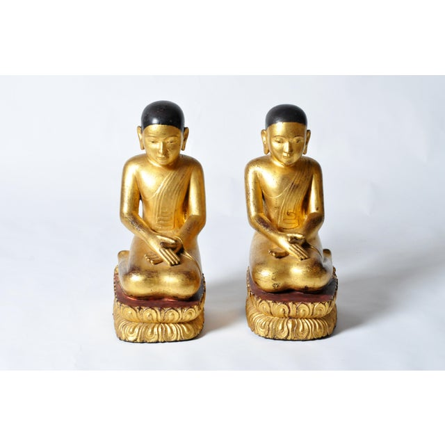 According to Buddhist tradition, the Buddha had two first Chief Disciples, Sāriputta and Moggallāna. Depictions of these...