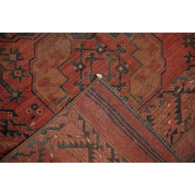 "Vintage Ersari Carpet - 8'2"" X 9'8"" For Sale In New York - Image 6 of 10"