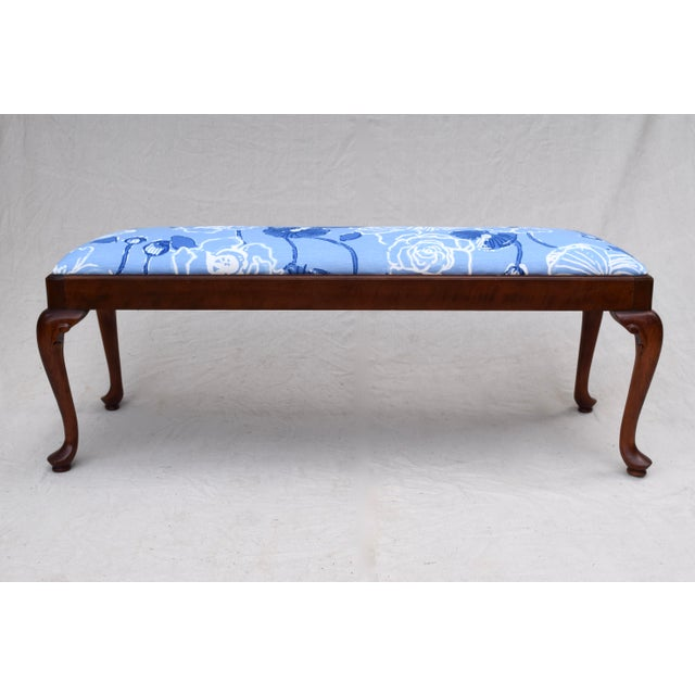 Queen Anne Bench by Century For Sale - Image 11 of 11