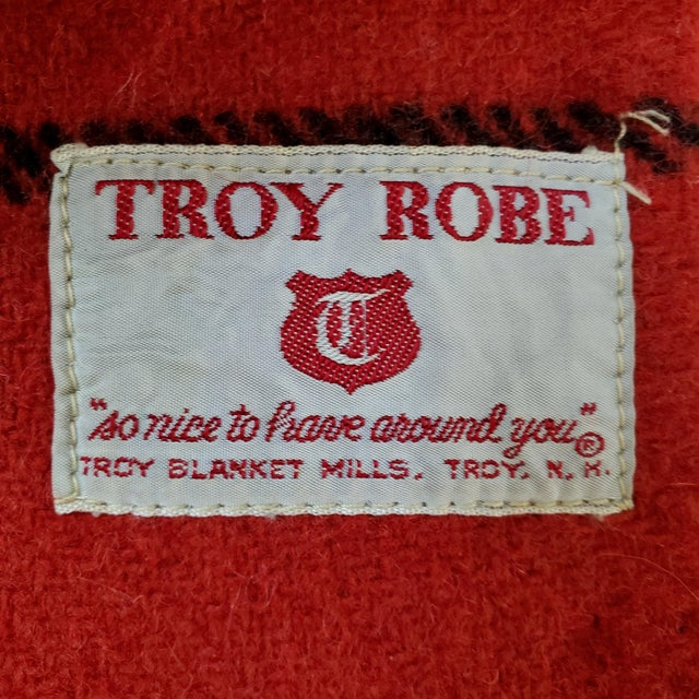 Late 20th Century Troy Robe Tartan Plaid Throw Blanket For Sale - Image 5 of 6