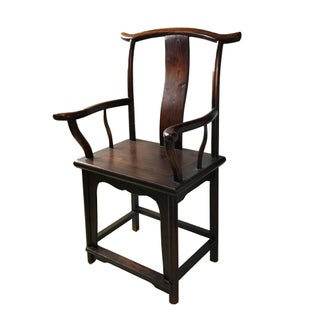 "Chinese High Officials Hat Armchair 41.75"" H Preview"