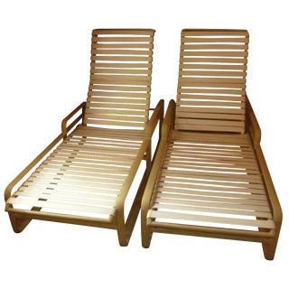 MCM Mid-Century Modern One Tropitone Chaise Lounge Aluminum