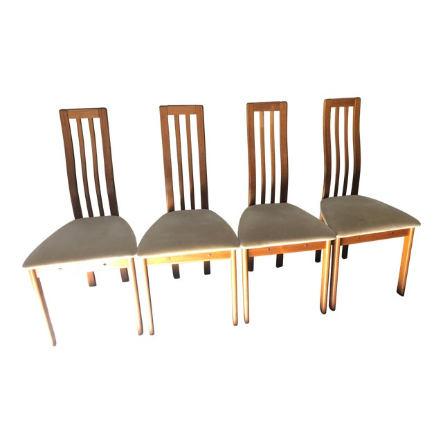 Magnificent Danish 1960S Vintage Vamdrup Stolefabrik Chairs Set Of 4 Beatyapartments Chair Design Images Beatyapartmentscom