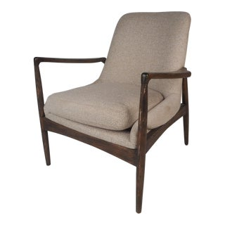 Contemporary Modern Lounge Chair For Sale
